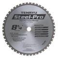 "Steel-Pro Saw Blade, 8-1/4"" Dia, 48T, 0.087"" Kerf, 5/8""KO Arbor, Tenryu PRF-21048BW"