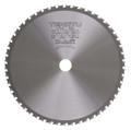 "Steel-Pro Saw Blade, 10"" Dia, 50T, 0.091"" Kerf, 1"", 5/8"" Arbor, Tenryu PRF-25550D"