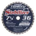"Steel-Pro Stabilizer Saw Blade, 7-1/4"" Dia, 36T, 0.079"" Kerf, 20mm Arbor, Tenryu PRF-18536BWK2"