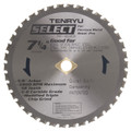 "Steel-Pro Select Saw Blade, 7-1/4"" Dia, 38T, 0.079"" Kerf, 5/8""KO Arbor, Tenryu PRF-18538DS"