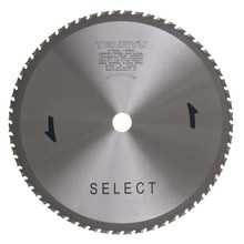 """Steel-Pro Select Saw Blade, 12"""" Dia, 60T, 0.094"""" Kerf, 1"""" Arbor, Tenryu PRF-30560DS"""