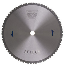 """Steel-Pro Select Saw Blade, 14"""" Dia, 72T, 0.094"""" Kerf, 1"""" Arbor, Tenryu PRF-35572DS"""
