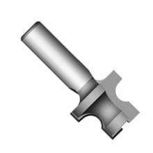 Whiteside 3902 - Model Train, Track Router Bits, (Male Connector - Half Round Cutter), Carbide Tipped