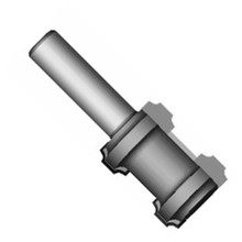 Whiteside 3915 - Model Train, Track Router Bits, Track Double Groove Bit, Carbide Tipped