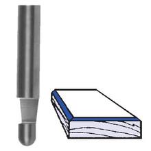 Whiteside SC29-BLK (100 pcs.) - 7deg Bevel Trim Router Bits (100 pack) - Quarter Inch Shank, Solid Carbide
