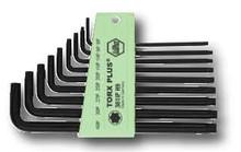 Wiha 36691 - Torx Plus L-Key Long Arm 9 Pc. Set