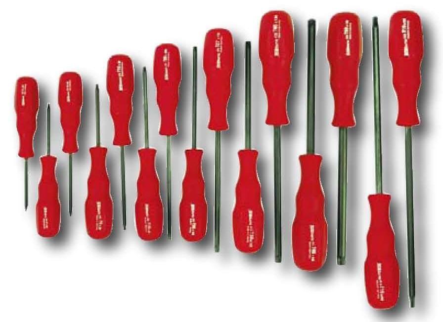 15pc proturn torx screwdriver set t6 t50 wiha 45589. Black Bedroom Furniture Sets. Home Design Ideas