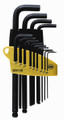 Wiha 36991 - Ball End Hex L-Key 13 Pc Set .050-3/8