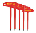 Wiha 33478 - Insulated T-Handle Hex 5 Pc Set
