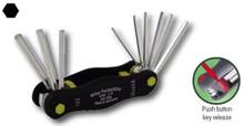 Wiha 35197 - PocketStar Fold Out Hex 9 Pc 5/64-1/4