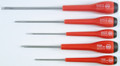 Wiha 51090 - Slotted / Phillips Screwdriver 5 Pc Set With Wiha-Dynamic Handle