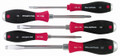 Wiha 53075 - SoftFinish Extra Heavy Duty Slotted and Phillips Screwdriver 5 Pc Set