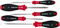 Wiha 30295 - SoftFinish Slotted and Phillips Screwdriver 5 Pc Set