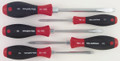 Wiha 30892 - SoftFinish Heavy-Duty Slotted / Phillips Screwdriver 5 Pc Set