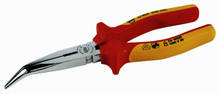 Wiha 32807 - Insulated Bent Long Nose Pliers 6.3""