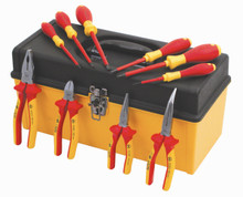 Wiha 32892 - Insulated 10 Pc Pliers/Cutters/Drivers