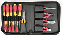 Wiha 32895 - Insulated 14 Pc Plier/Cutter/Screwdriver/Nut Driver