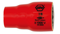"Wiha 31520 - Insulated Socket 12 Point 3/8"" Drive 20mm"