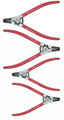Wiha 32629 - RetainRing Pliers Extern Bent 4 Pc Set