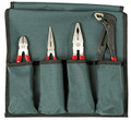 Wiha 32601 - Vinyl Grip Pliers & Cutter 4 Pc Set