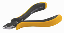 Wiha 32703 - ESD Safe Precision Cutters, Small Tapered Head, Semi Flush