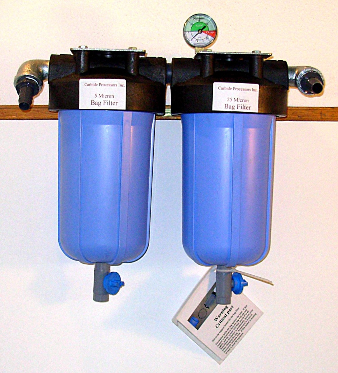 machine coolant filter system