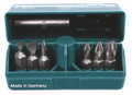 Wiha 71198 - Pokitpak Slotted/Phillips Insert Bits 7 Pc Set