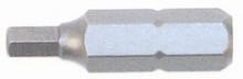 Wiha 71976 - Tamper Resistant Inch Hex Bit 3/16x25mm 2 Pc Pack