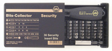 Wiha 71990 - Security Bits Collector 39 Pc Set w-Magnetic Bit Holder