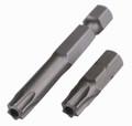 Wiha 70156 - Tamper Resistant Torx Bit T25Sx25mm 2 Bit Pack