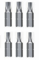 Wiha 71570 - Torx Insert Bit 6 Pc Set T5-T10x25mm