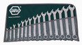 Wiha 40087 - Combination Wrench Metric 15 Pc Set 8-24mm