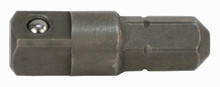 Wiha 72110 - 1/4 Hex to 1/4 Square Drive Socket Adapter 25mm
