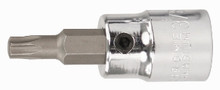 Wiha 76334 - 1/4 Drive Socket with Security Torx Bit T20s