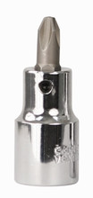 Wiha 76422 - 1/2 Drive Socket with Phillips Bit #2