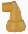Wiha 34010 - MaxiFlex 1/2 Hose Nozzle 90deg Bend 10mm