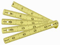 "Wiha 61601 - MaxiFlex Folding Inch / Metric Ruler 39"" / 1m"