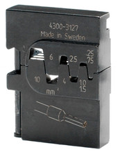 Wiha 43127 - PortaCrimp Wire Ferrules - Insulated & Non-Insulated 24-8 AWG