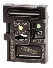Wiha 43128 - PortaCrimp Die Set For Green & Yellow Insulated Terminals & Splices