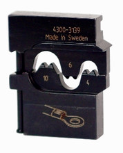 Wiha 43139 - PortaCrimp Die Set For Non-Insulated Terminals, Lugs & Splices 8/10/12 AWG