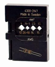 Wiha 43147 - PortaCrimp Power Contacts 26-12 AWG