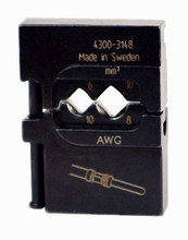 Wiha 43148 - PortaCrimp Power Contacts 10-8 AWG
