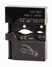 Wiha 43162 - PortaCrimp for Yellow/Green heat shrink connectors