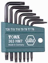 Wiha 36392 - Torx L-Key 7 Pc Set & Holder T6-T20