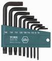 Wiha 36394 - Torx L-Key 9 Pc Set & Holder T8-T40