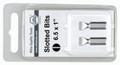 Wiha 71052 - Slotted 5.5x25mm 2 Bit Pack