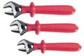 Wiha 76290 - Insulated Adjustable Wrench 3 Piece Set