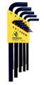 Bondhus 12137 - Set of 13 Hex L-keys .050-3/8 - Long