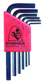 Bondhus 12246 - Set of 6 Hex L-keys 1.5-5mm - Short