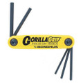 Bondhus 12585 - Set of 5 Hex Fold-up Tools 3/16-3/8